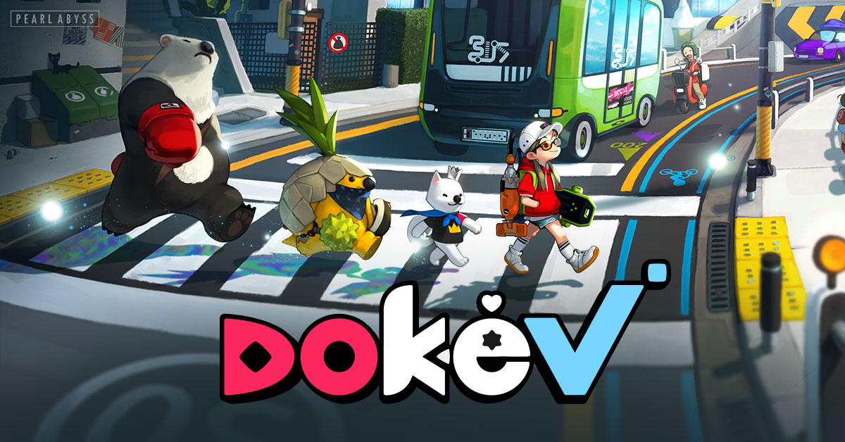 DokeV — An Open World Action-Adventure | Pearl Abyss