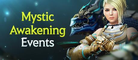 Mystic Awakening Events