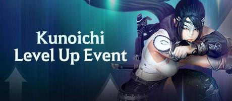 Kunoichi Level Up Event