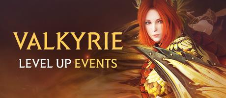 Valkyrie Level Up Event