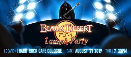 Black Desert PS4 Launch Party